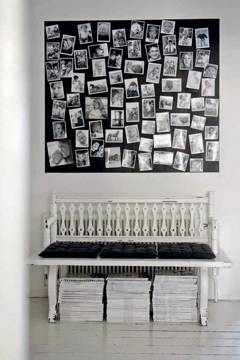 My Scandinavian Home The Striking Monochrome Home Of A Swedish Photographer My Scandinavian Home Photo Collage Decor