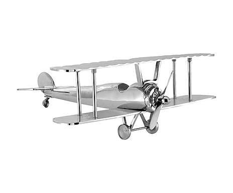 Avión decorativo de aluminio,106€
