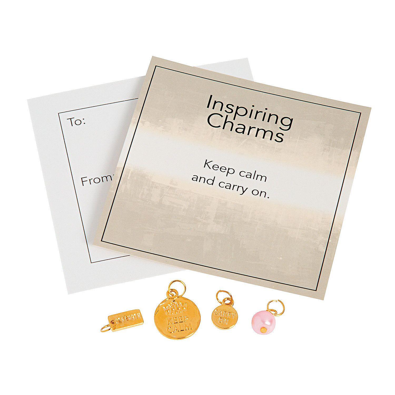 Inspiring+Goldtone+Keep+Calm+Charms+with+Inspirational+Tag+-+OrientalTrading.com