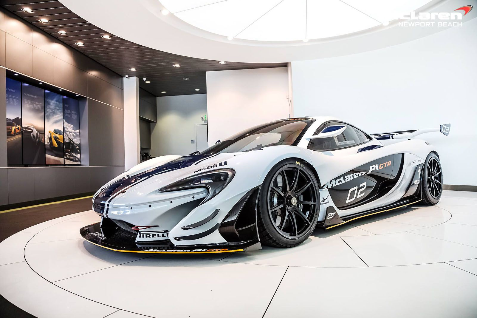 Mclaren P1 Gtr Listed For Sale In Southern California Carscoops Blue Mclaren P1 Mclaren P1 Mclaren Cars