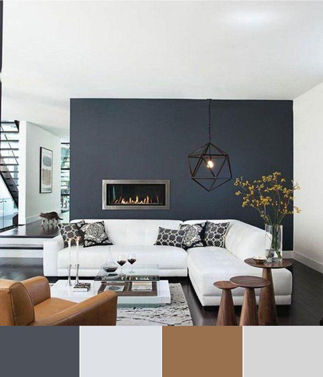 40 Combinaciones De Colores Para Pintar Un Salon Mil Ideas De Decoracion Decoracion De Interiores Colores De Interiores Interiores De Casa