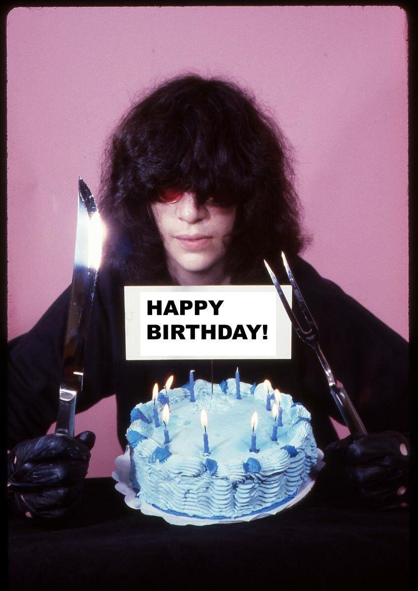 Joey Ramone Birthday Cake Birthday Wedding Party Pinterest