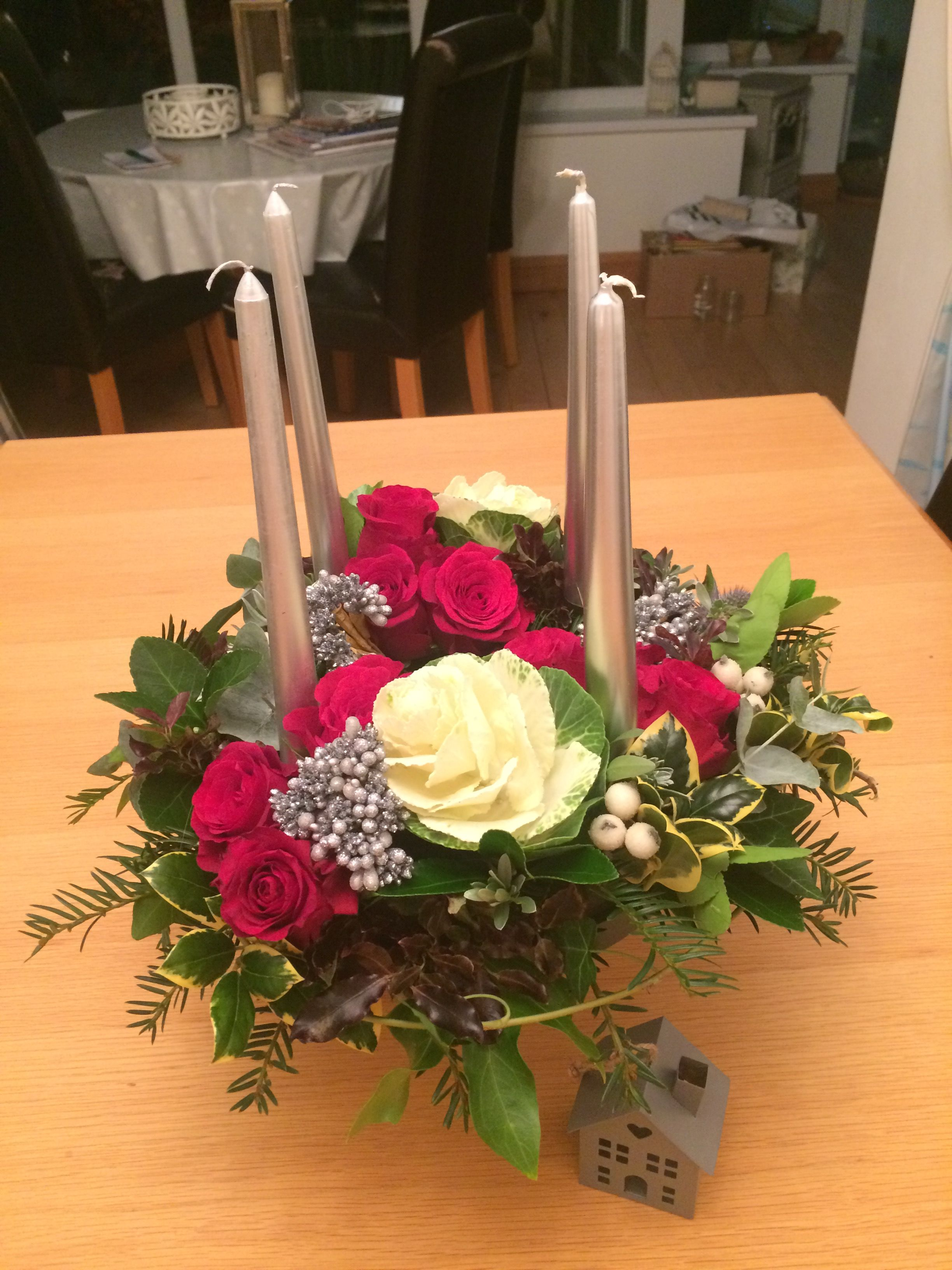 Advent wreath my flower projects pinterest advent wreaths advent wreath izmirmasajfo