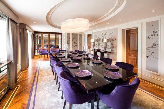 The Elegant Dining Room Stratheden The Bishops Avenue N2