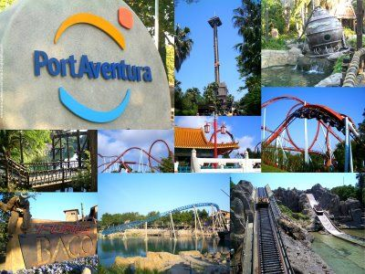Port Aventura Spain Take Me There Pinterest Roller Coaster - Place port aventura pas cher