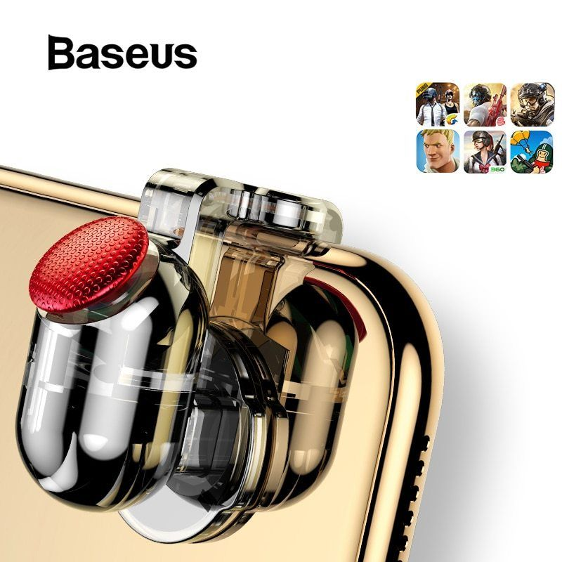 Baseus for pubg game gamepad l1 r1 gamepad trigger for