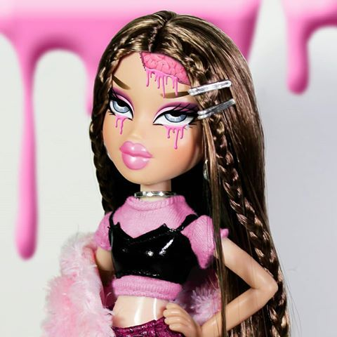 Bratz Doll Dolls Aesthetic Glam Pretty Fashion Bratz