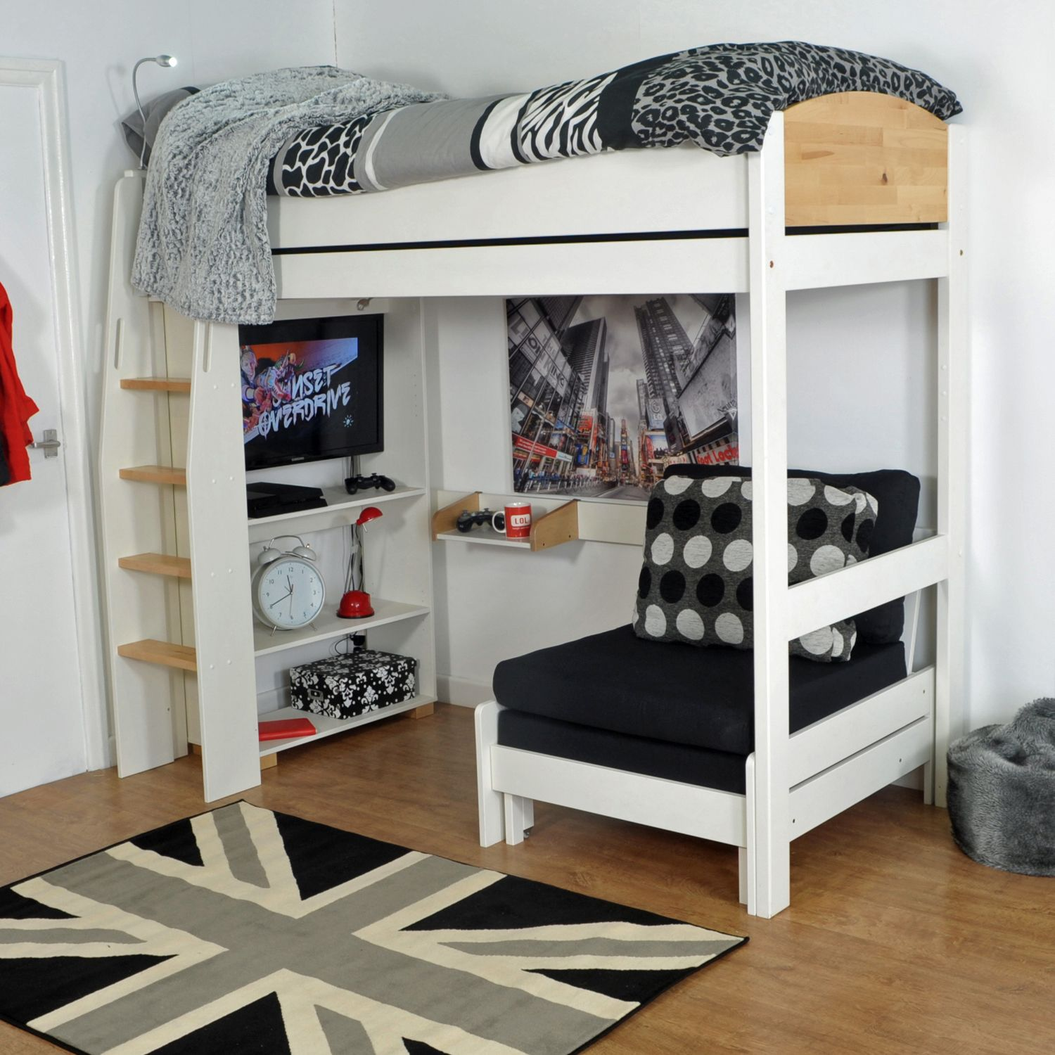 the kids avenue urban 3 highsleeper is sure to bring life into any childs u2026 the kids avenue urban 3 highsleeper is sure to bring life into any      rh   pinterest