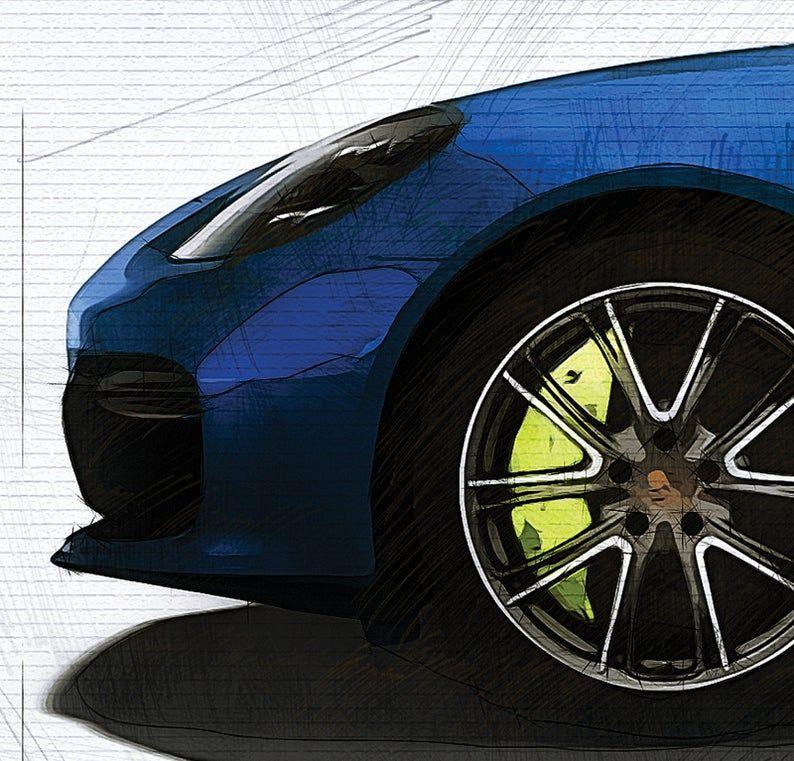 Porsche Panamera Turbo S EHybrid Sport Turismo 2020 art