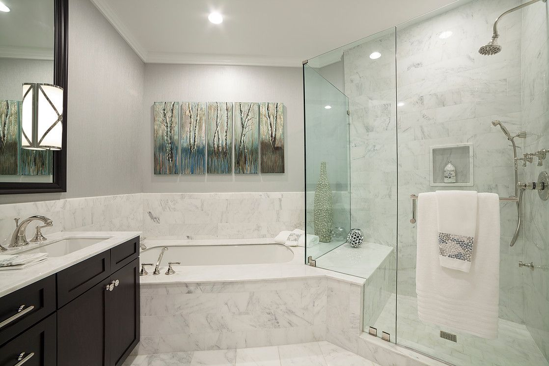 Delicieux Master Bath | Ritz Carlton | Marble | Marble Bathroom | High End  Residential Design | Apartment Design