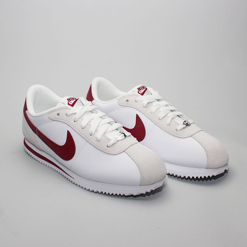huge selection of 235f7 850fd Nike Cortez Basic Leather 06 WhiteTeam Red - Foto 1