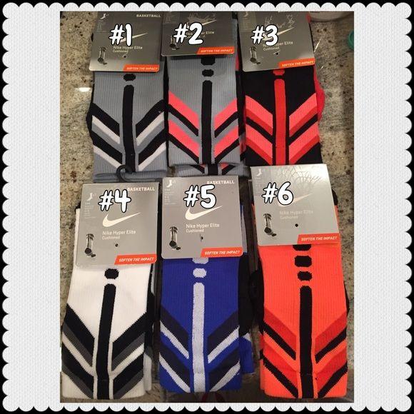 Nike Hyper Elite Basketball Cushioned Sock. $18ea. Nike Hyper Elite Basketball Cushioned Sock. $18ea. Nike Accessories Hosiery & Socks
