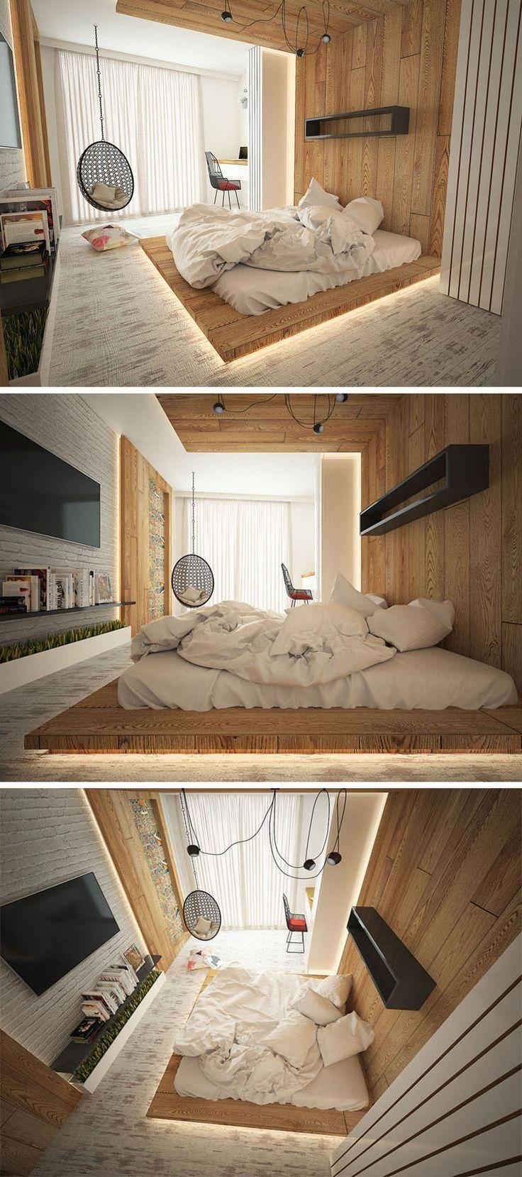 installing hidden lighting in your modern bedroom is a