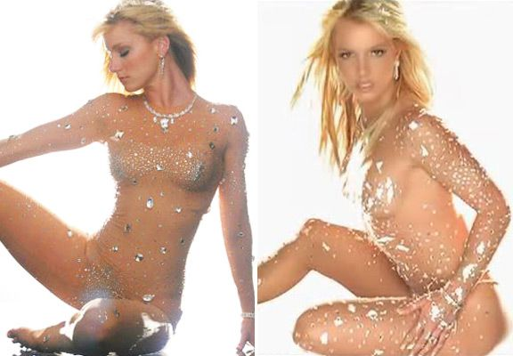 Britney spears naked celebrities