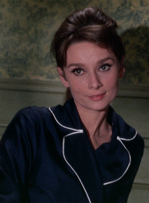 Audrey Hepburn in Charade (1963) I love his movie. It's second in my top three favorites: Roman Holiday, Charade, and Breakfast at Tiffany's