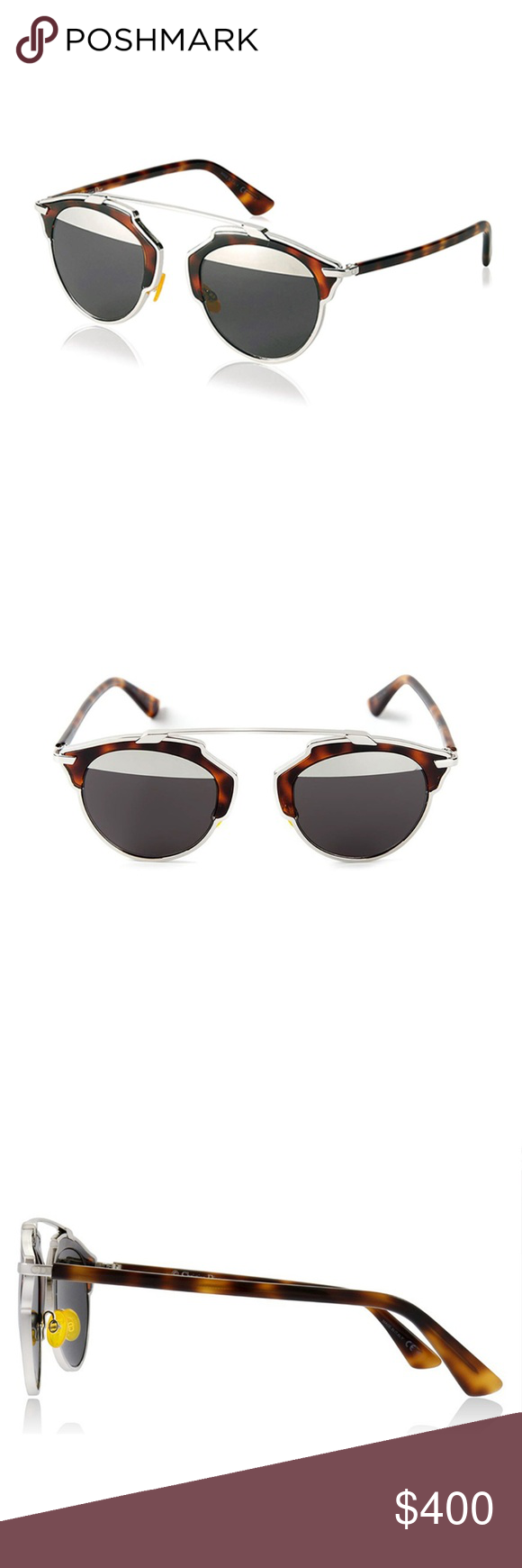 d0bd9525cb NWB Dior  So Real  Sunglasses Dior s  So Real  sunglasses feature grey and