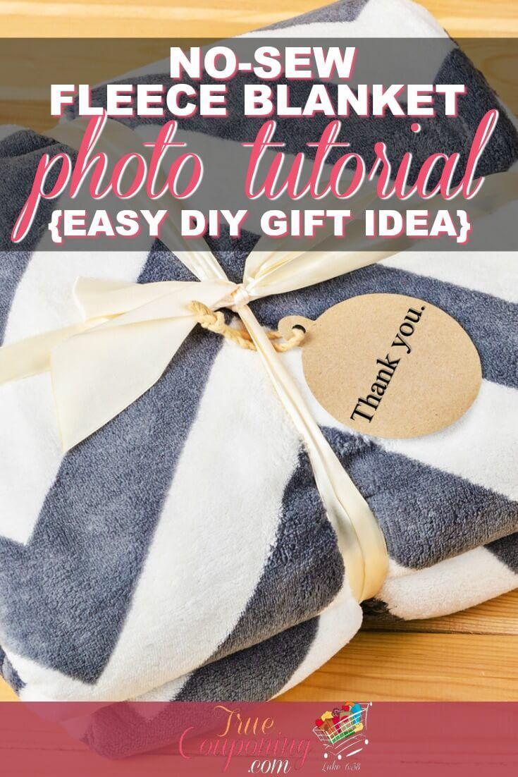 How to make the best nosew custom fleece blanket photo