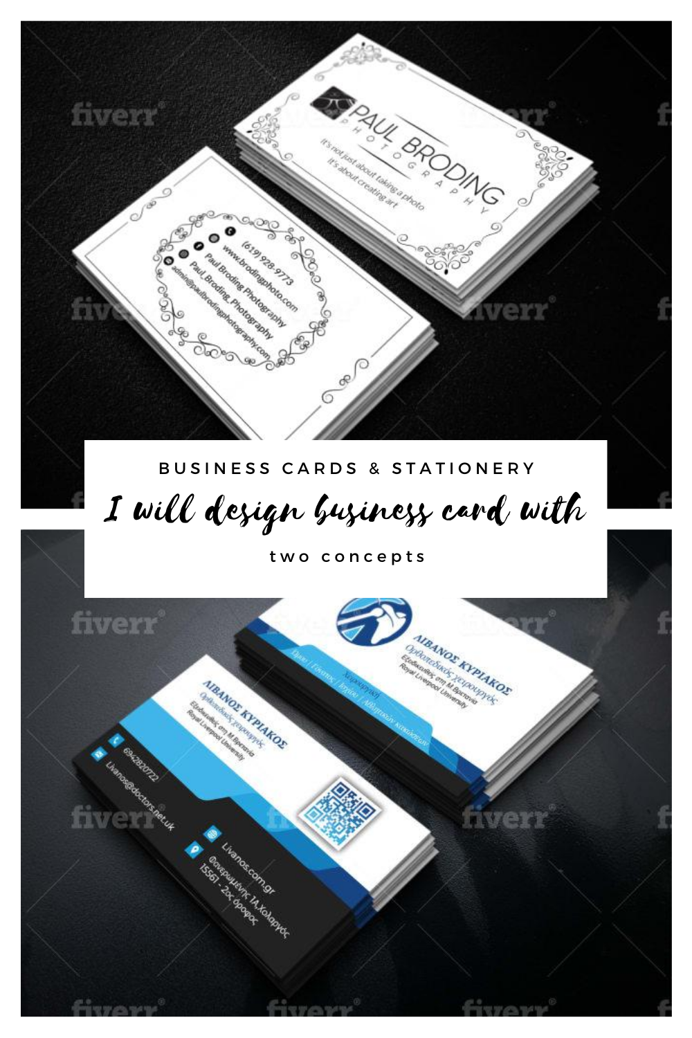Hamzanawaz3 I Will Design Elegant Double Sided Business Card Print Ready Files For 10 On Fiverr Com Double Sided Business Cards Printing Business Cards Professional Business Cards