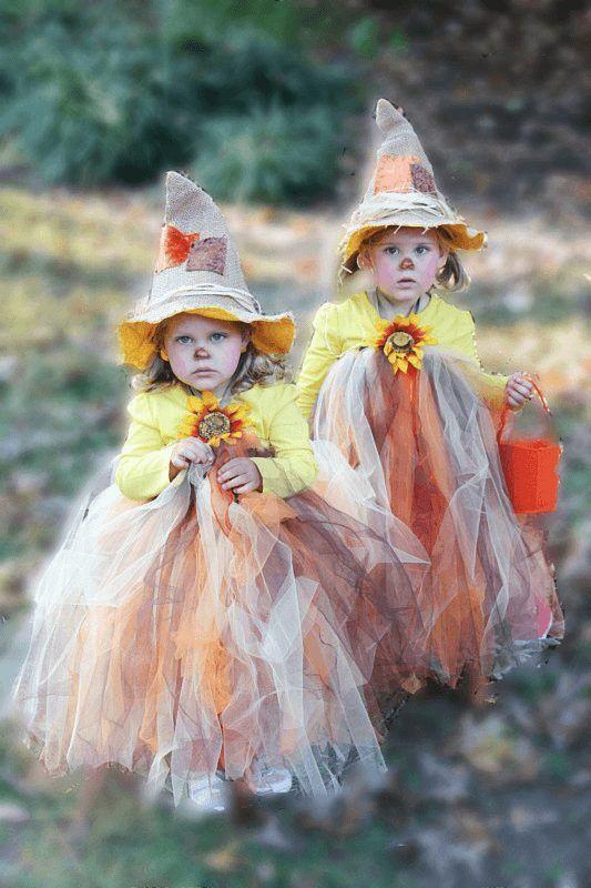 DIY Scarecrow Tutu Halloween Costume | Adorable and easy!