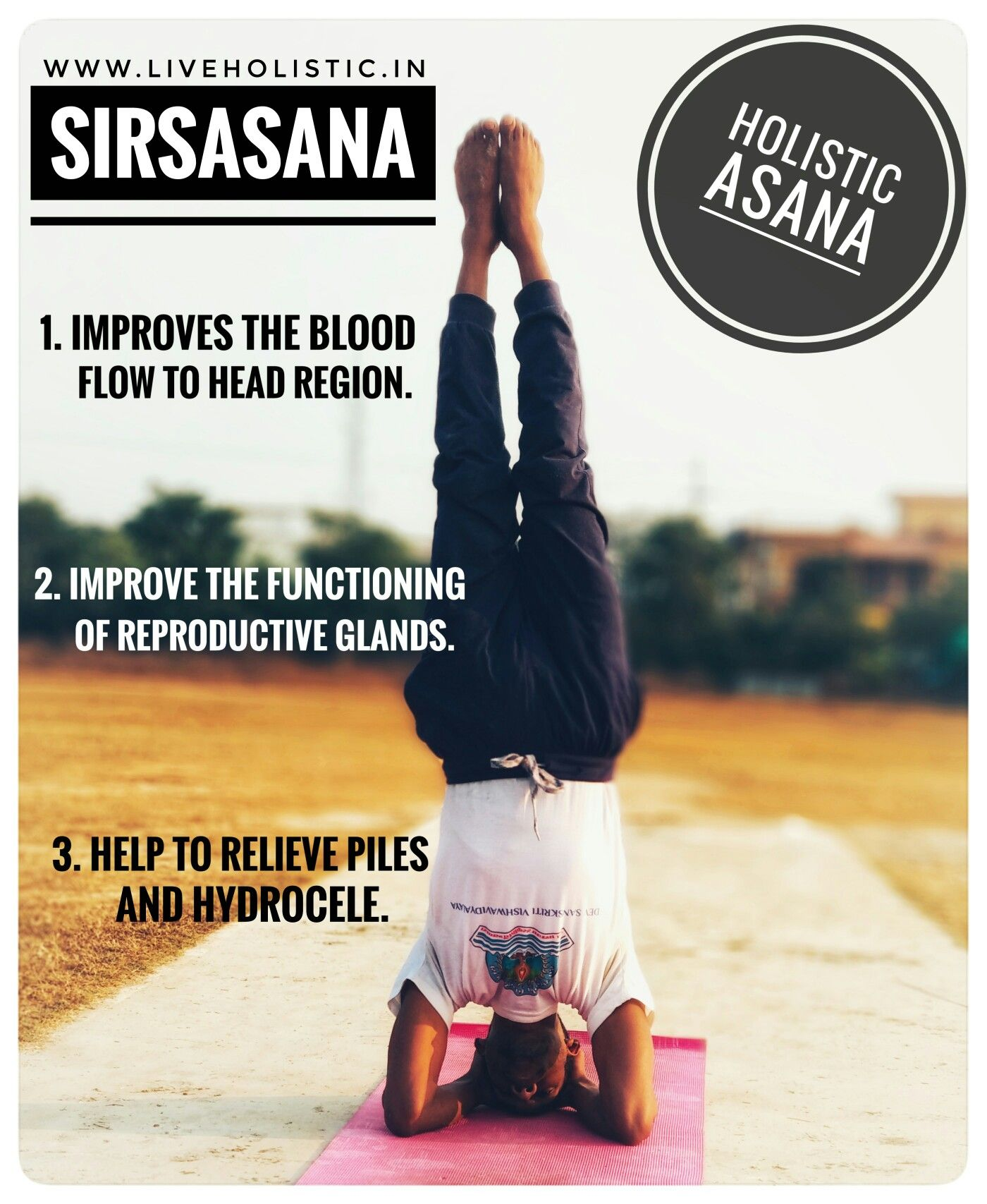 Sirsasana   Holistic, Blood flow, Asana