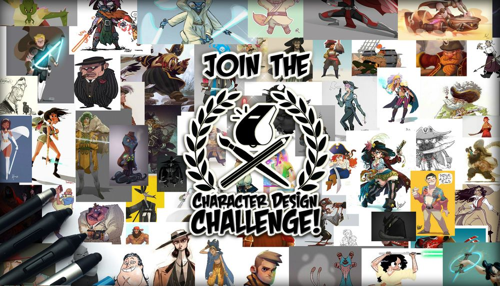 Character Design Challenge Themes : The character design challenge