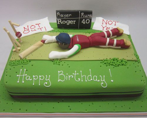 Click To View A Larger Image Cakes Cricket Cake