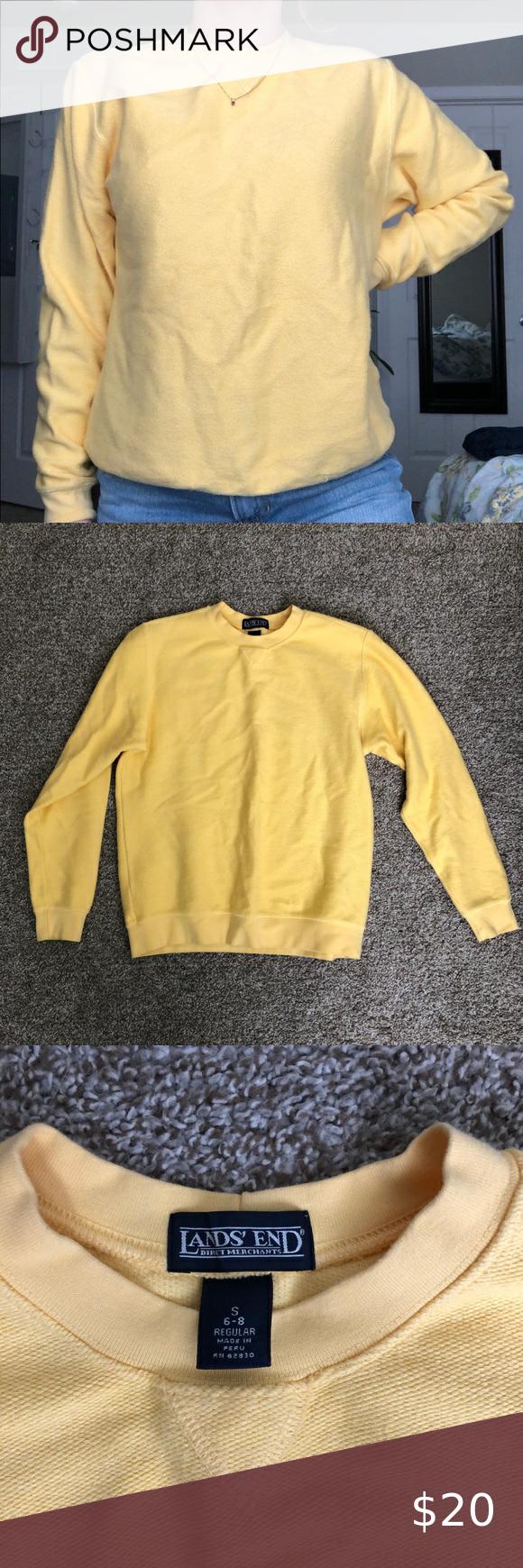 Light Yellow Sweatshirt Yellow Sweatshirt Plain Sweatshirt Sweatshirts [ 1740 x 580 Pixel ]