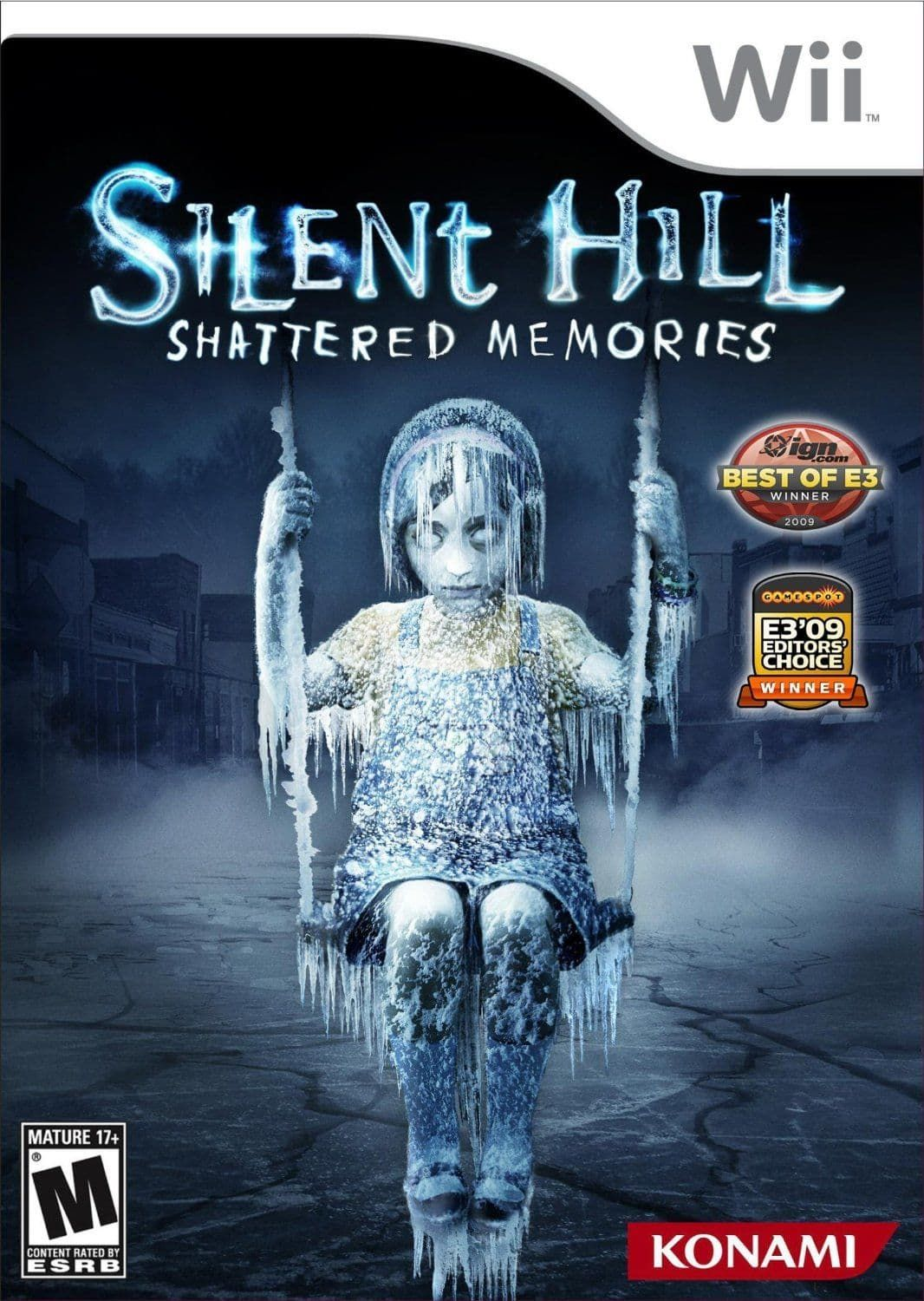 Silent Hill Shattered Memories Nintendo WII Game Silent