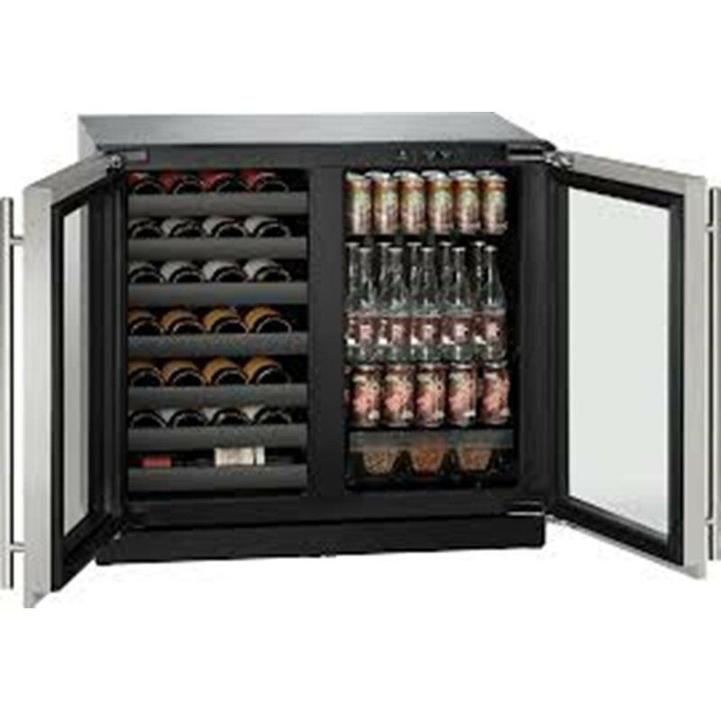 79 Bottle And 123 Can 3000 Series Dual Zone Built In Wine And Beverage Refrigerator In 2020 Beverage Center Built In Wine Refrigerator Beverage Refrigerator