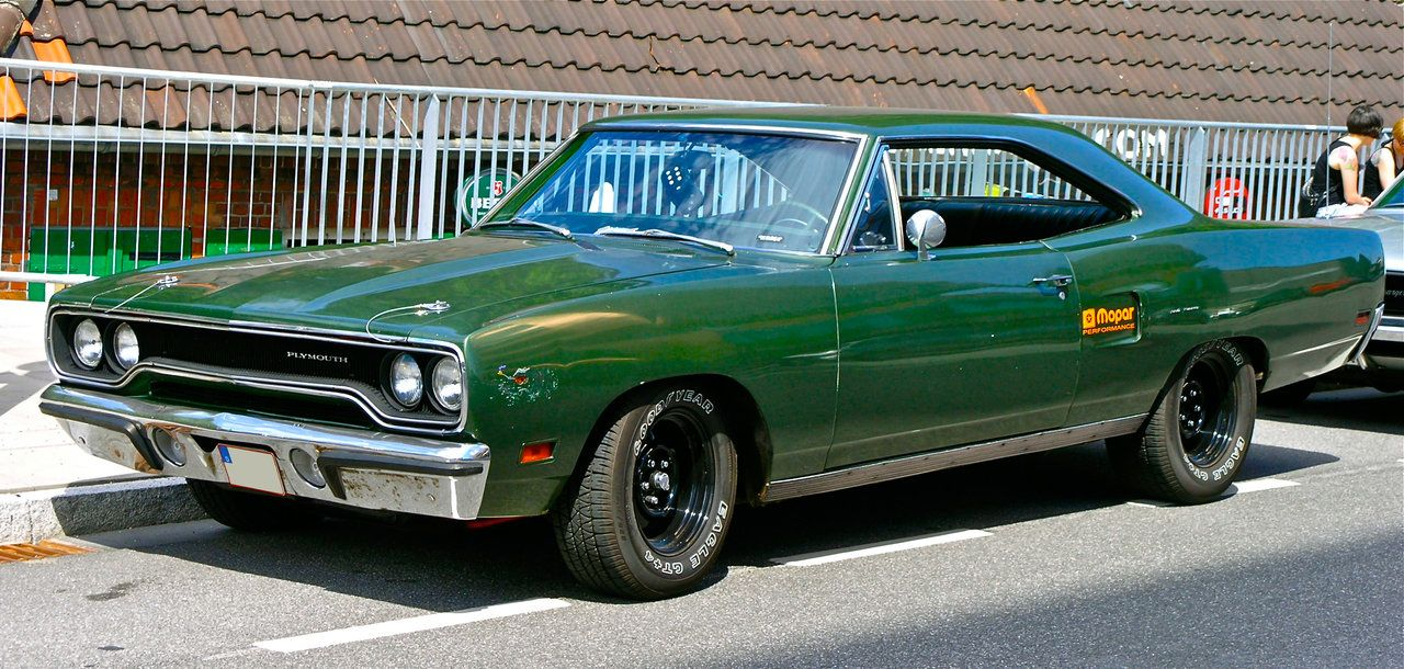Plymouth Roadrunner 1970 green by cmdpirxIIdeviantartcom on