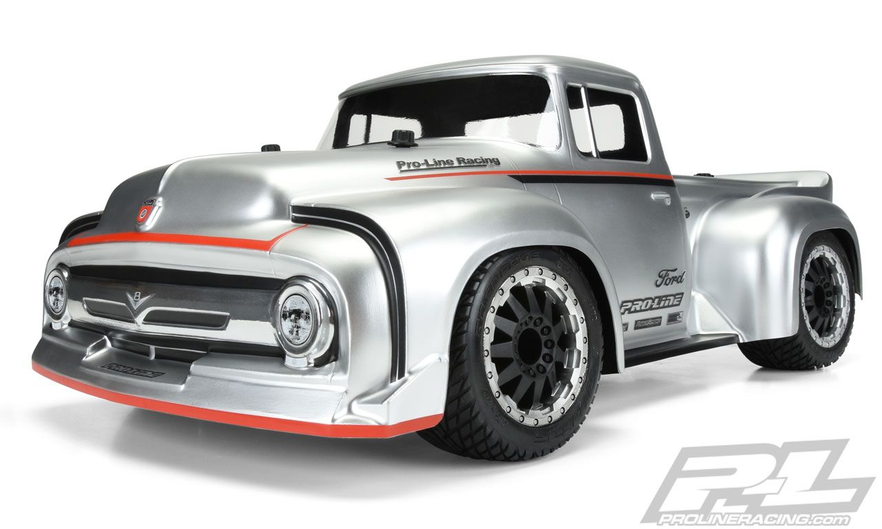Pro Line Slash 2wd Rally 56 Ford F100 Truck Clear Body Pro351400