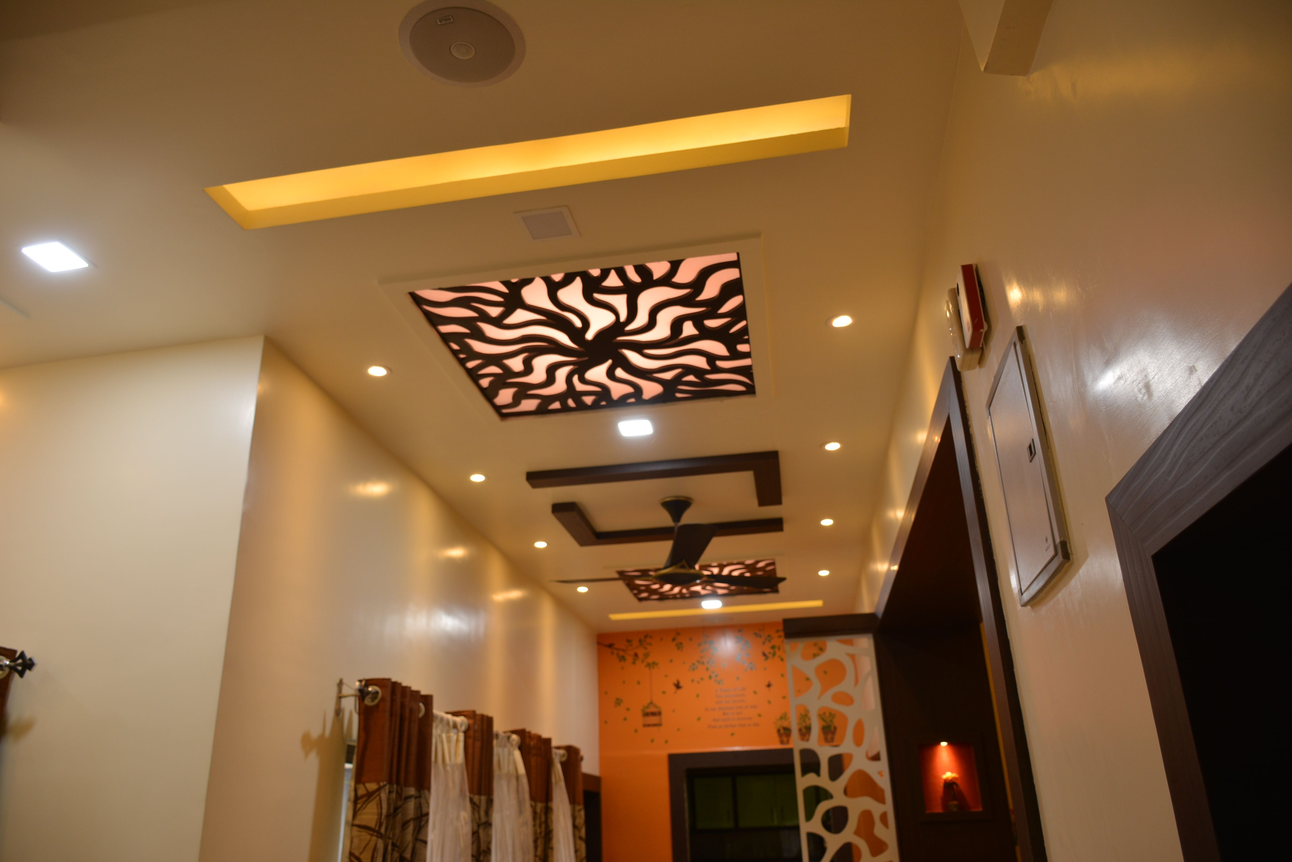 Jaali False Ceiling Design