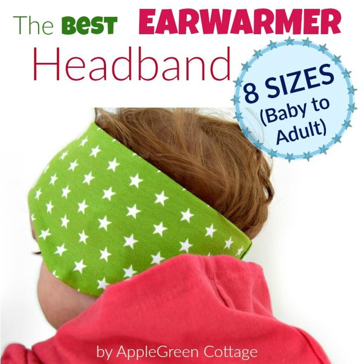 The Best Earwarmer Headband PDF Pattern | Earwarmer headbands, Pdf ...
