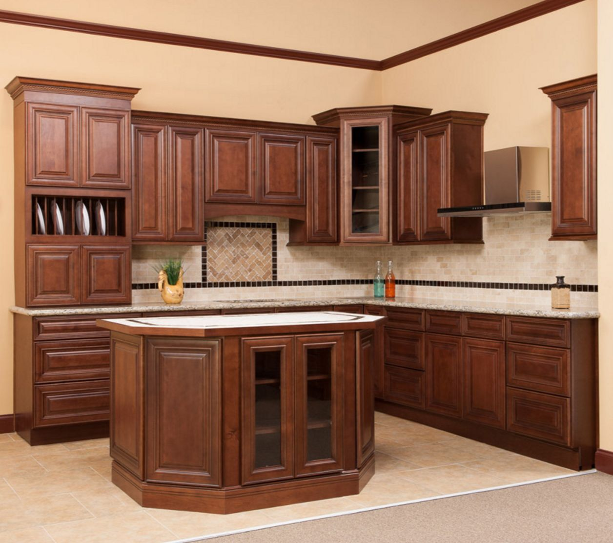 Pin by Falfas Cabinets & Stone on Traditional Kitchens ...