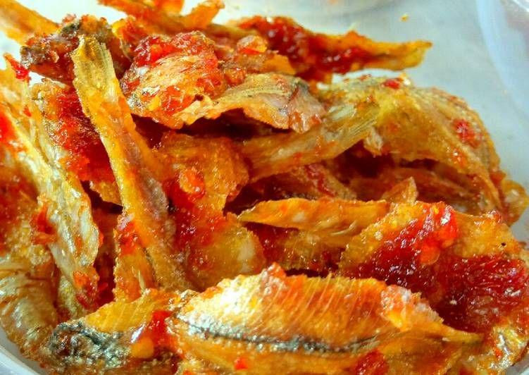 Resep Ikan Asin Crispy Balado Oleh Poetri Resep Memasak Resep Makanan Resep Ikan