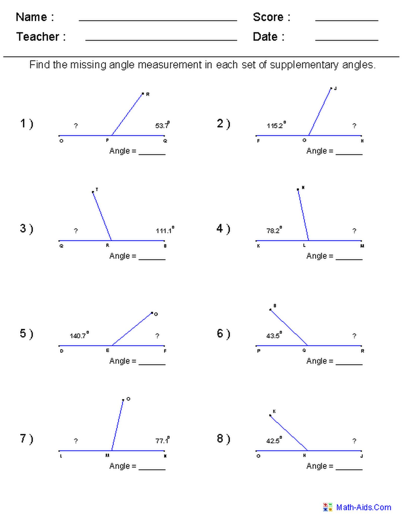 Worksheets Geometry Practice Worksheets geometry worksheets for practice and study study