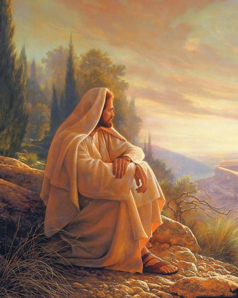 "PINTOR DE ARTE SACRO ""GREG OLSEN"", PROVO, UTAH, USA Arte Sacro Fotos de Jesús de Nazaret al Óleo"