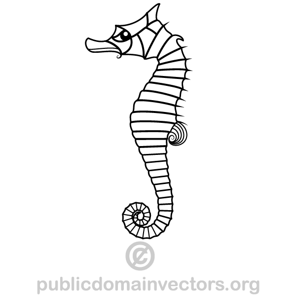 Seahorse Vector Image Free Vector Graphics Download Free Vector Clip Art Packs Vector Images Vector Graphics Free Clip Art