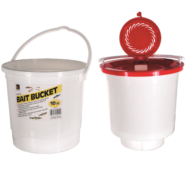Danielson 10-quart 2-piece Bait Bucket