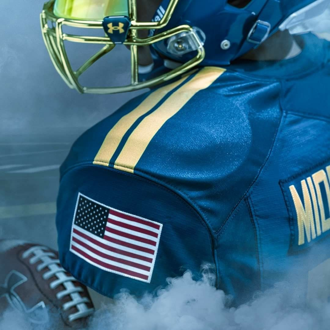 2017 ARMYNAVY Game day uniform. GO NAVY! Navy football