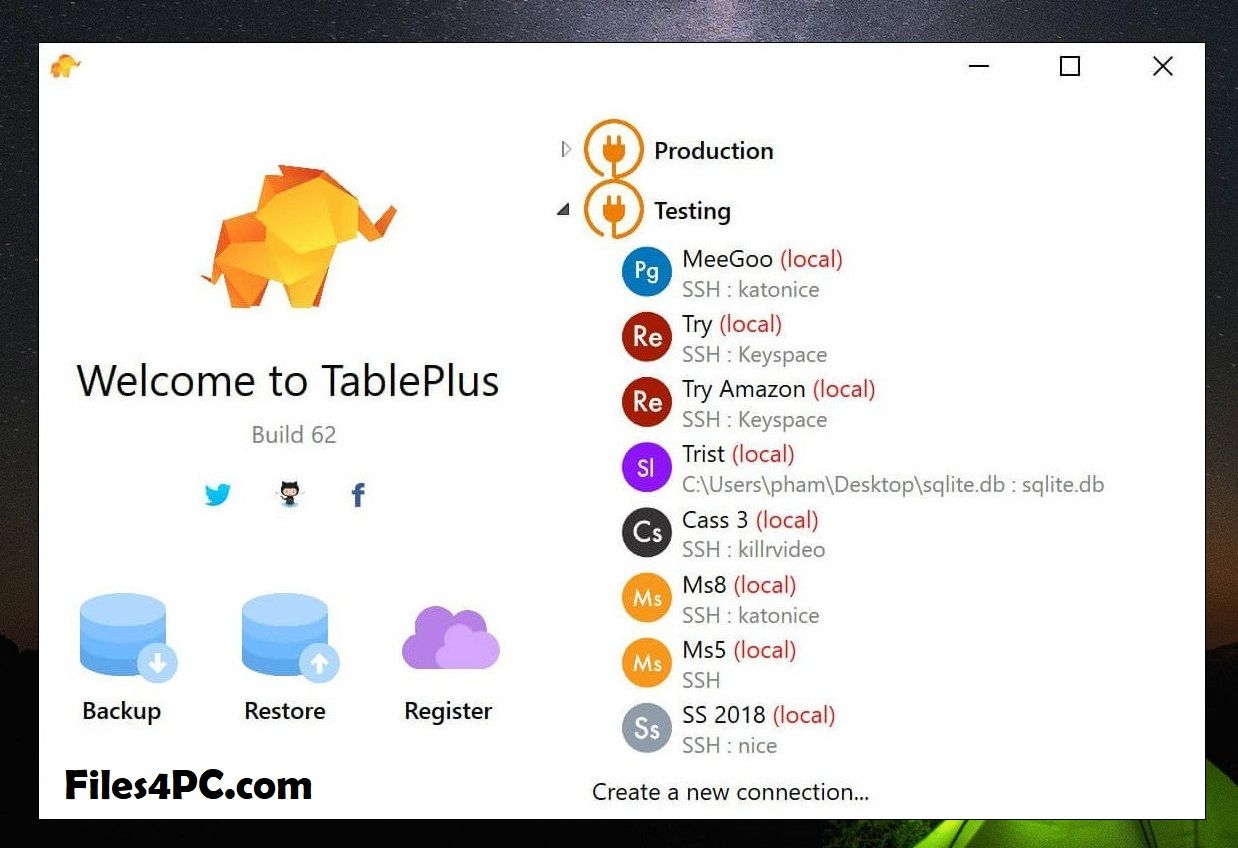 TablePlus 3.8.3 Build 138 License Key in 2020 | Relational database,  Database management, Android apps