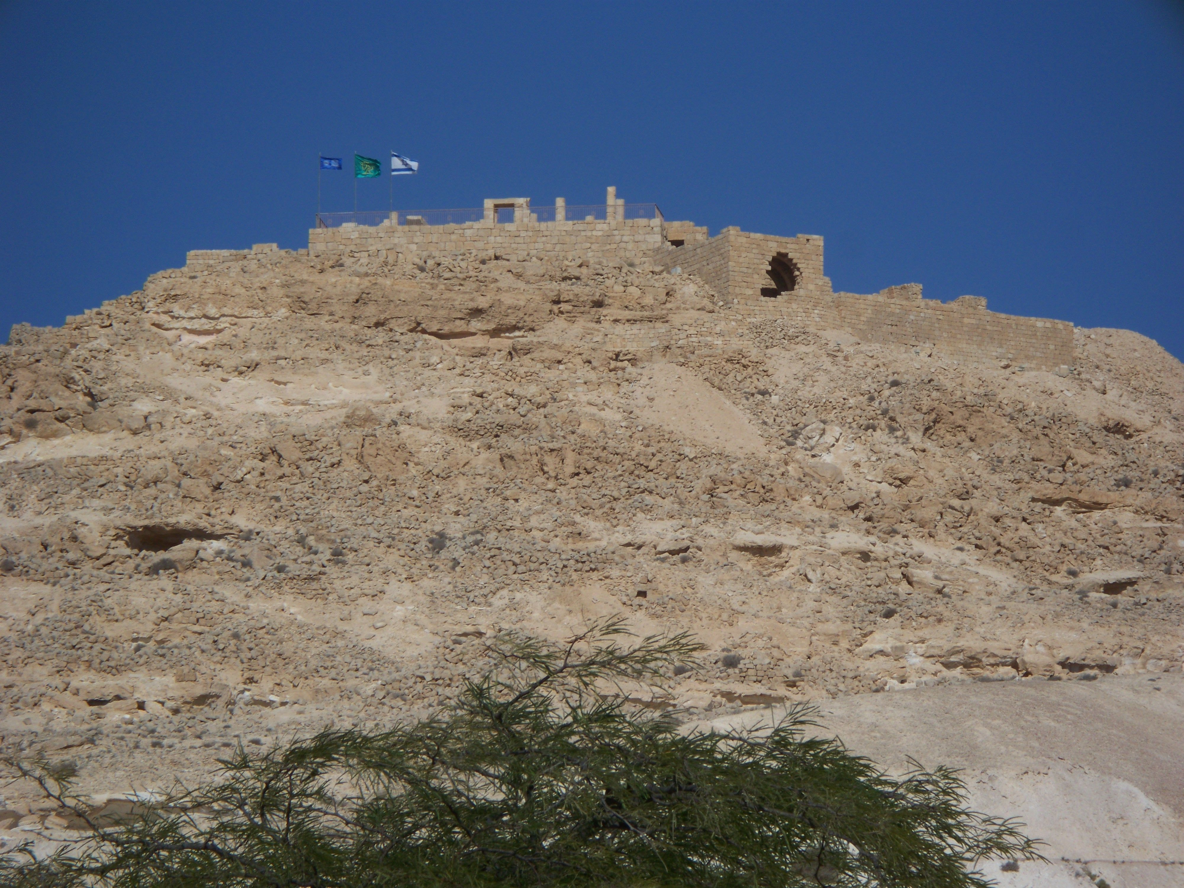 Avdat - Nabatean temple ~ Israel 2013