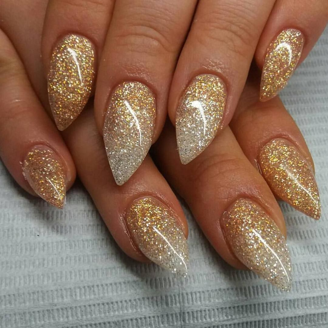 Camel and Diamond glitter gels from Light Elegance by ...
