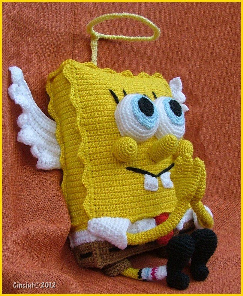 Holy Spongebob by Cinciut   Вязание крючком   Pinterest   Deckchen