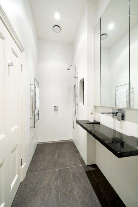 Narrow Bathroom Design Httpwwwmyhomerocks201202Compact Brilliant Bathroom Designs 2012 Inspiration Design