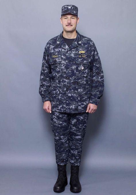 9b43fd2f56fe0 U.S. Navy: Current Work Uniform #nwu | Color | Navy uniforms, Us ...