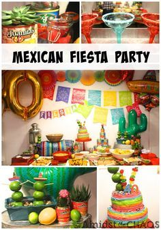 a mexican fiesta surprise 40th birthday party pinterest mexican