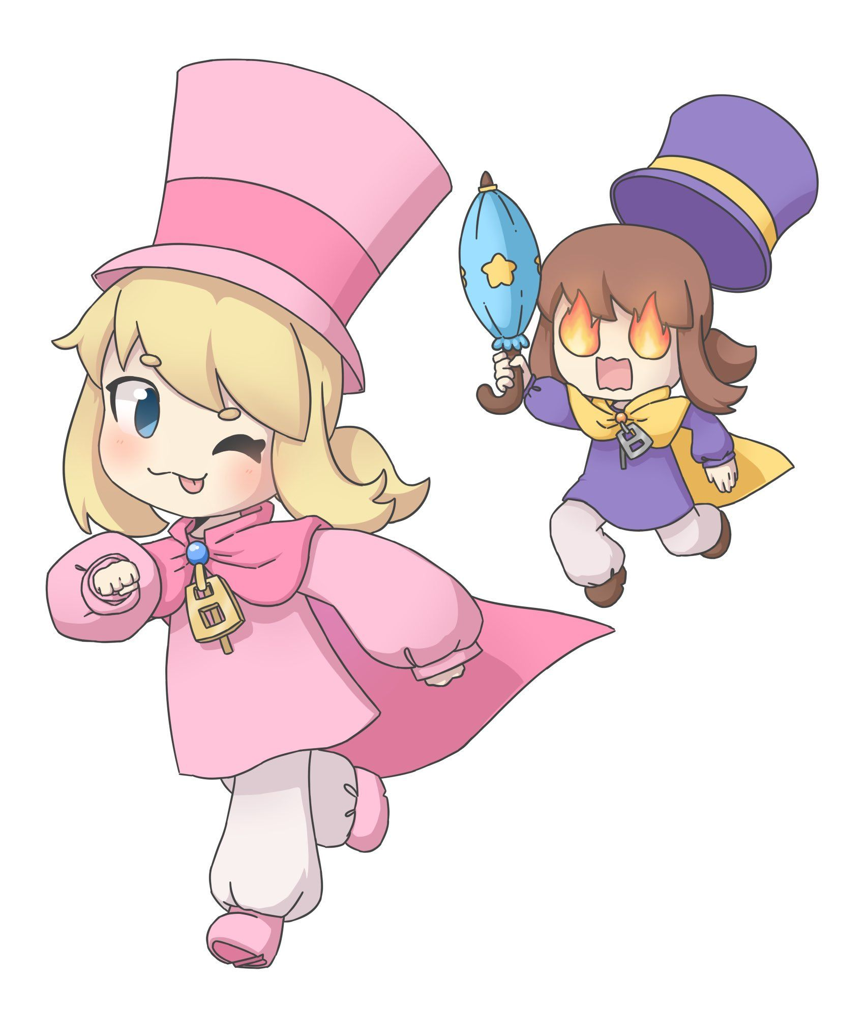 A Hat In Time Nyakuza Metro Out Now Hatintime Twitter A Hat In Time Hat In Time Hat In Time Art