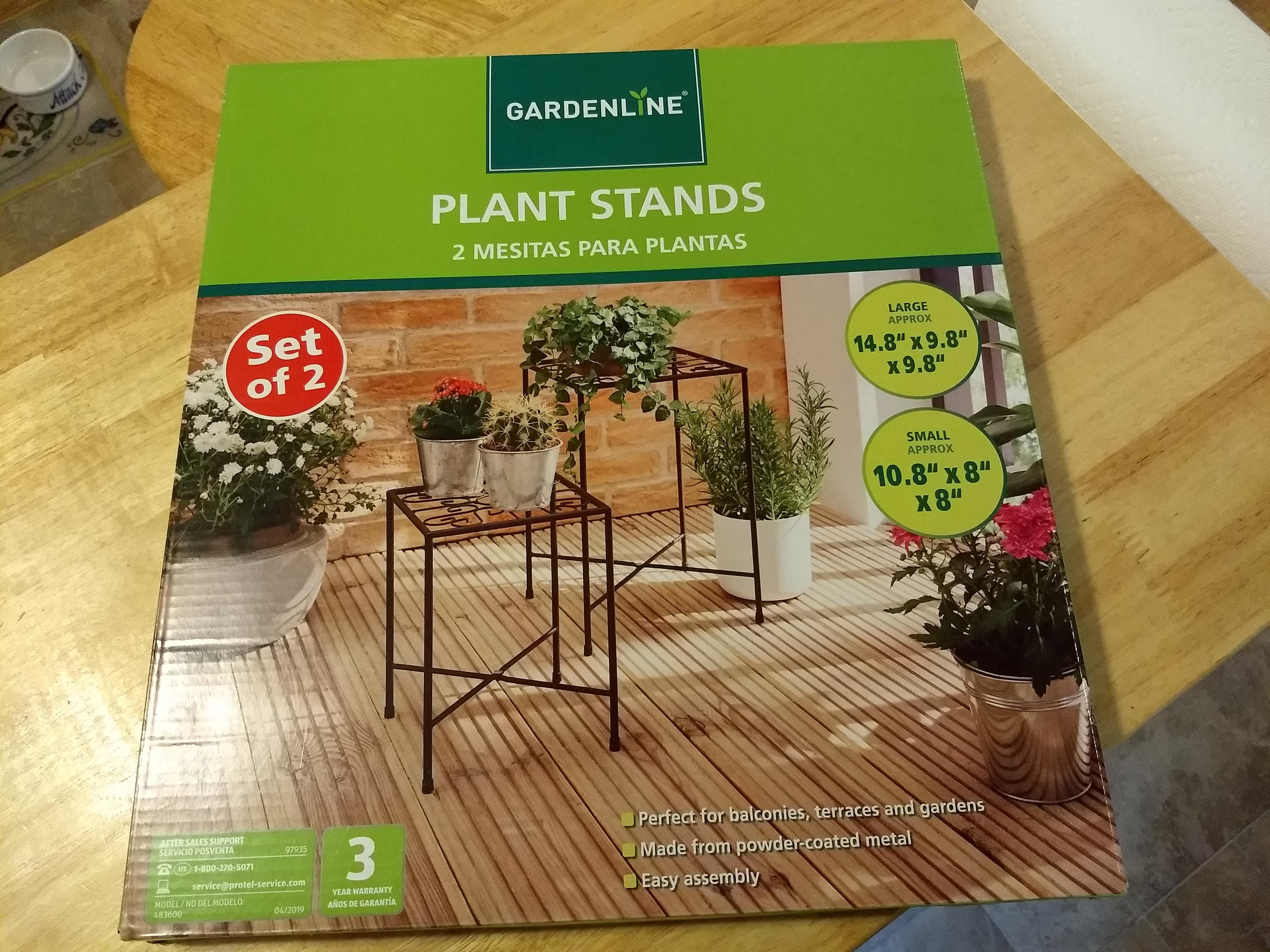Gardenline Plant Stands Plants Lawn Garden Small End 400 x 300