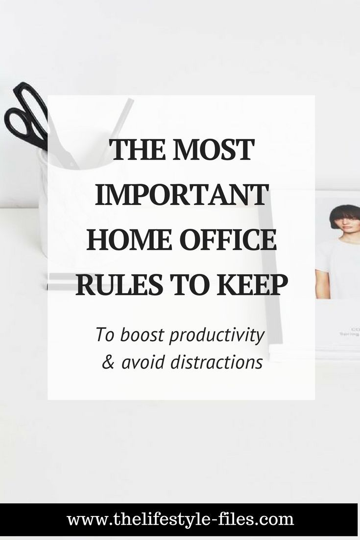 9 rules I set for myself when I started working from home ...
